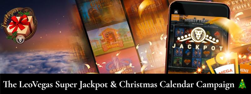 LeoVegas Super Jackpot & Kejutan Kalender Natal Harian