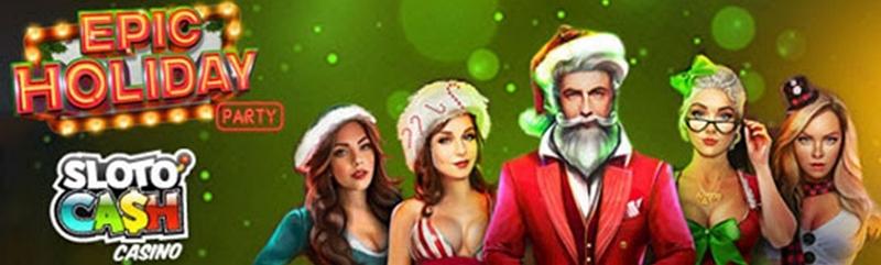 Bergabunglah dengan Epic Holiday Party di Slotocash untuk Hadiah Uang Tunai Nyata yang Fantastis