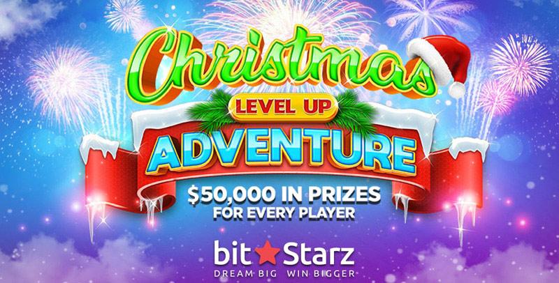 Petualangan Naik Level Natal $50K di BitStarz Casino